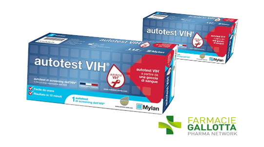 L autotest per l hiv lo trovi in farmacia farmacie gallotta - Test hiv periodo finestra 2016 ...
